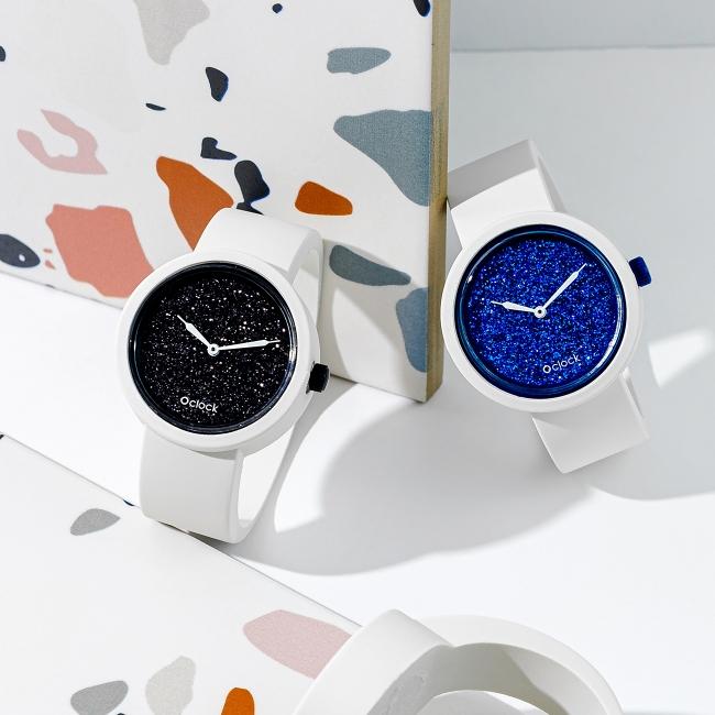 Циферблат O clock Crystal Full Sky темно-синій
