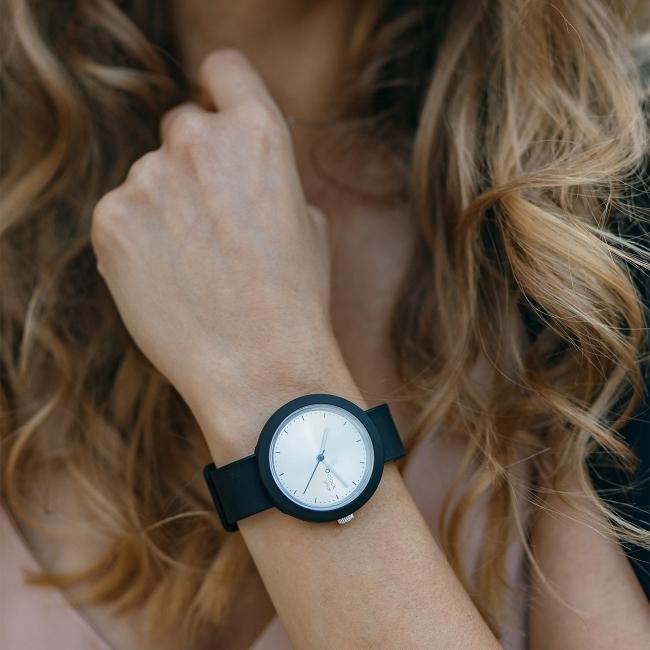 Циферблат O clock great Soleil срібло