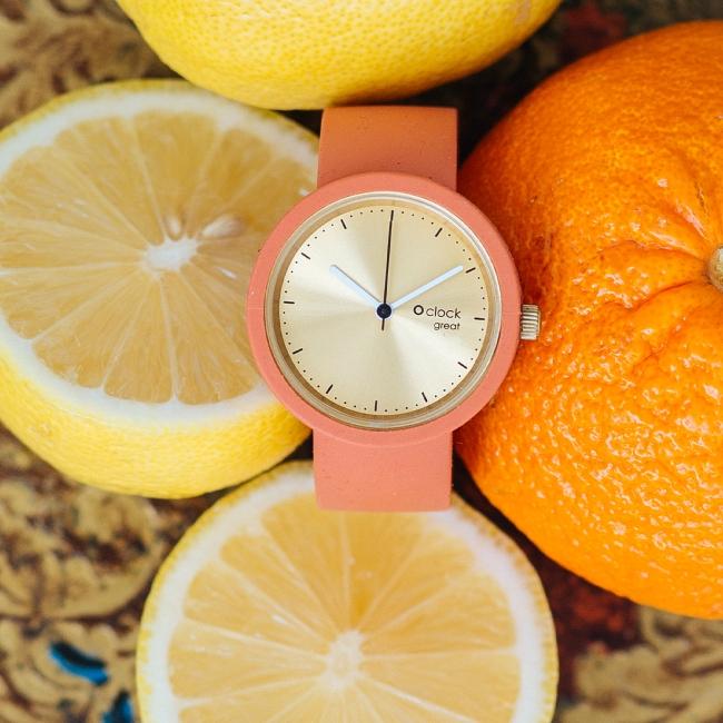 Циферблат O clock great Soleil Золото
