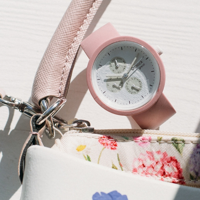 Ремінець O clock great Пудра