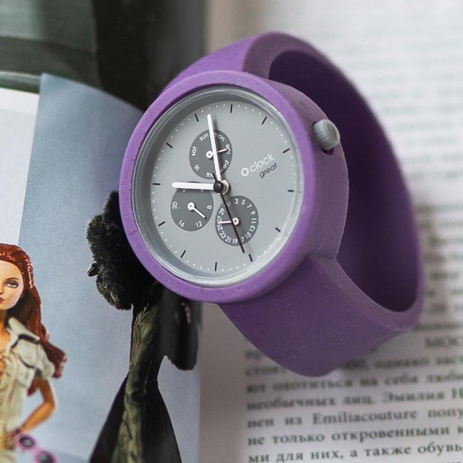Ремінець O clock great Бузок