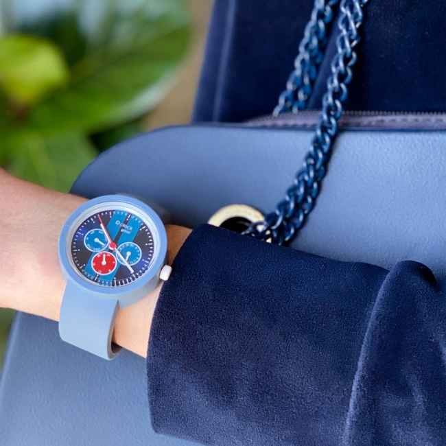 Ремінець O clock great Небесно-Блакитний