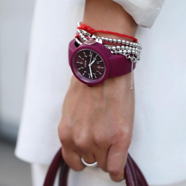 Ремінець O clock Пурпурний