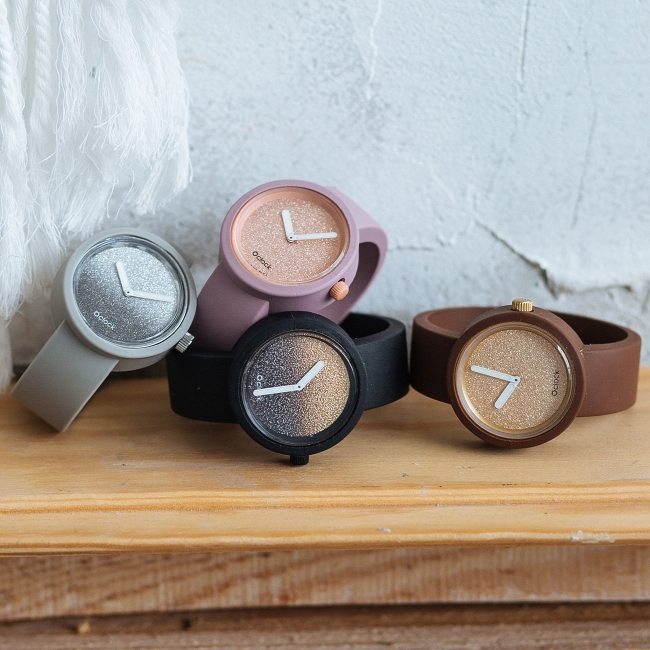 Циферблат O clock Glimmer рожевий крем