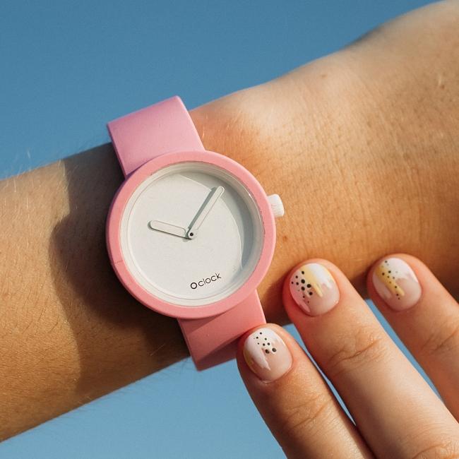 Ремінець O clock Рожевий