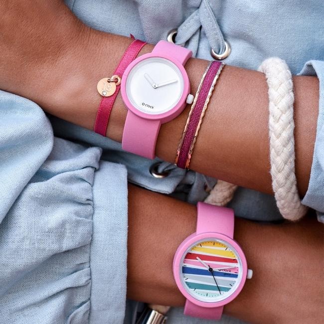 Ремінець O clock great Рожевий