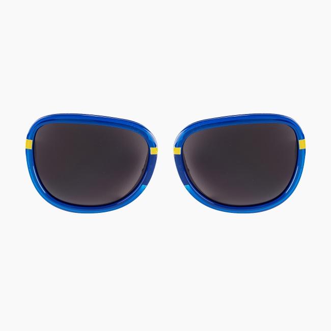 Лінзи O sun shine з контрастною лінією Синій