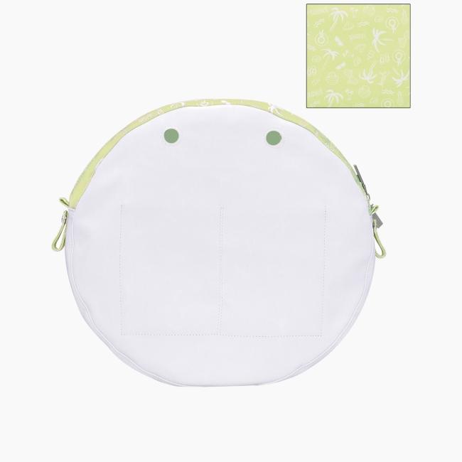 """Підкладка O bag twist mini з орнаментом """"Маямі"""" Світло-зелений"""