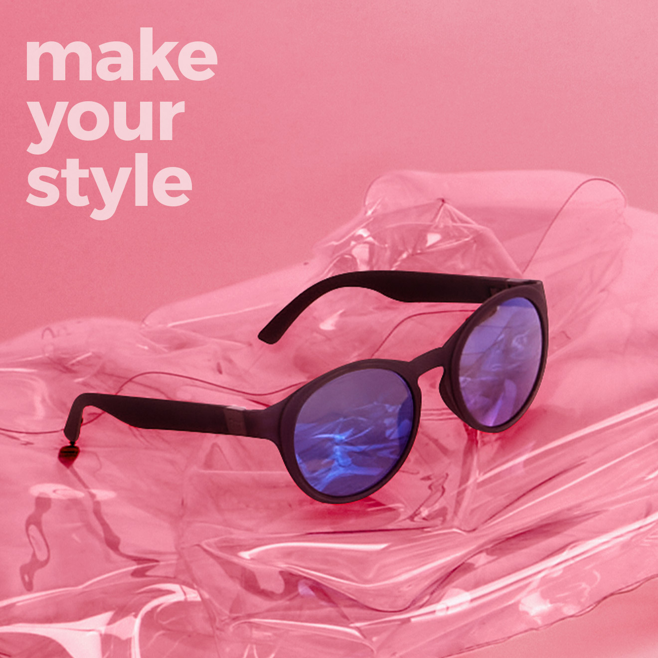 Міксуйте елементи, створюючи вашу комбінацію окулярів O sun