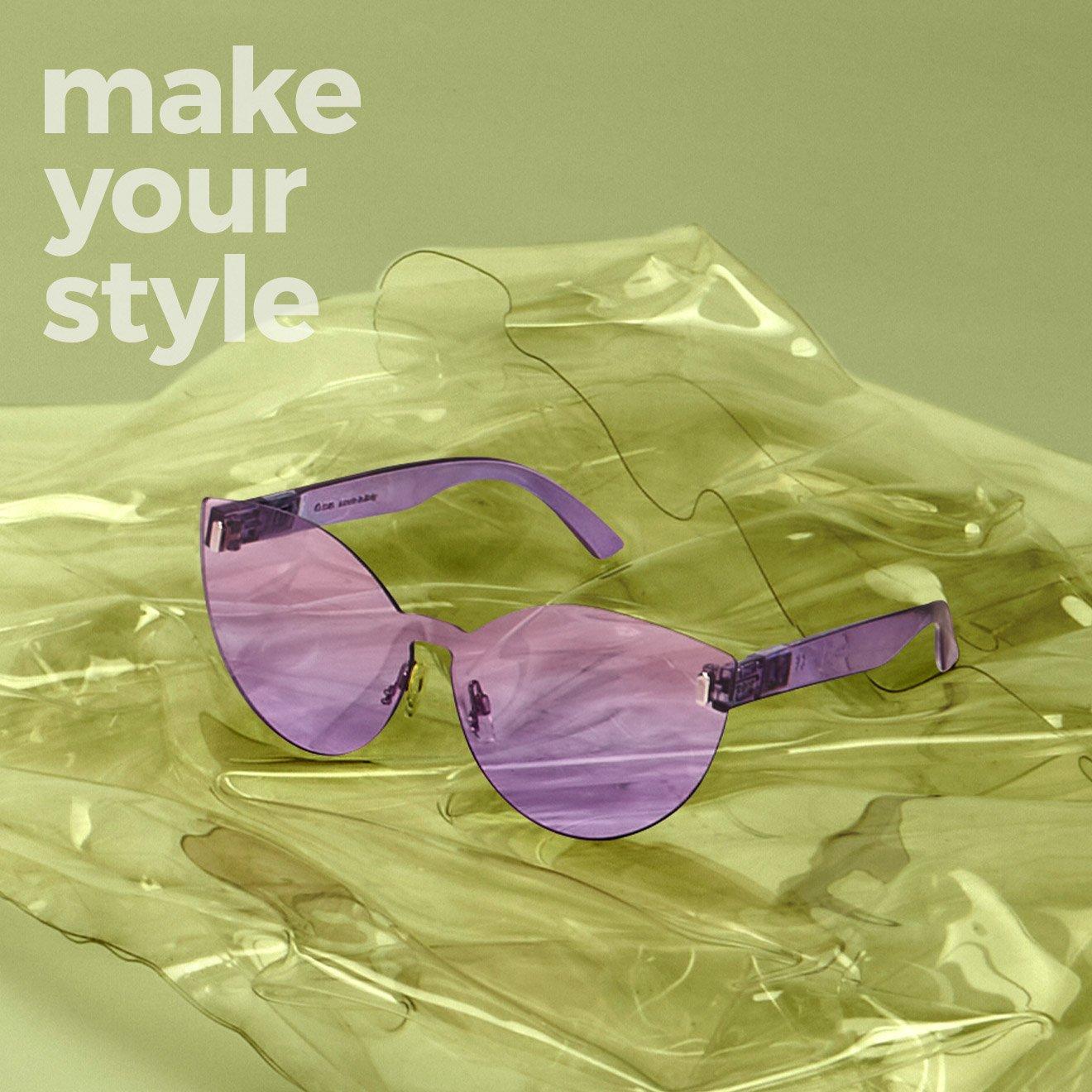 Міксуйте елементи, створюючи вашу комбінацію окулярів O sun Flat