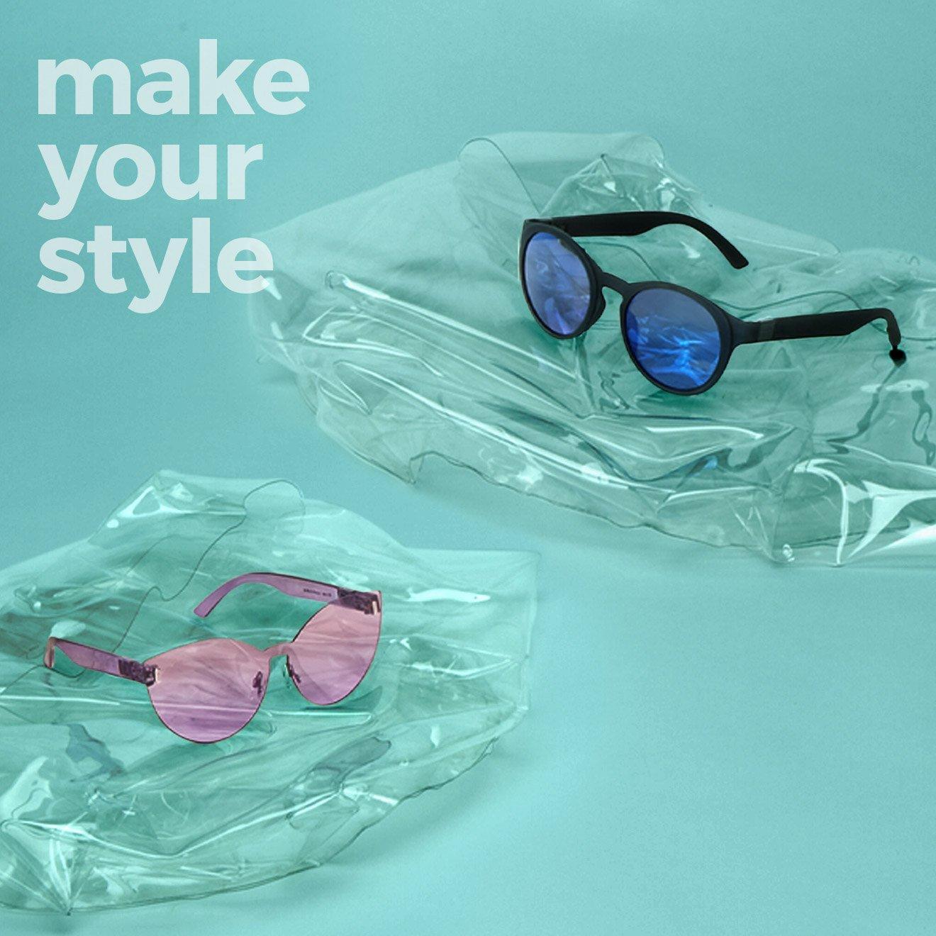 Відкрийте для себе величезний вибір комбінацій окулярів O sun