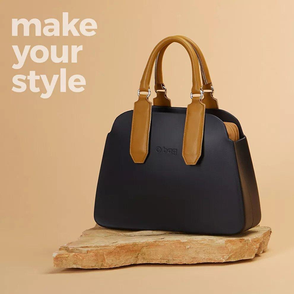Створіть свою O bag reverse, підібравши до корпусу підкладку і ручки. Поєднуйте аксесуари, які підкреслять ваш стиль
